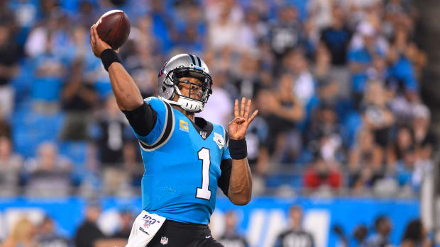 Former Carolina Panthers quarterback Cam Newton has reportedly agreed to a one-year deal with the New England Patriots.