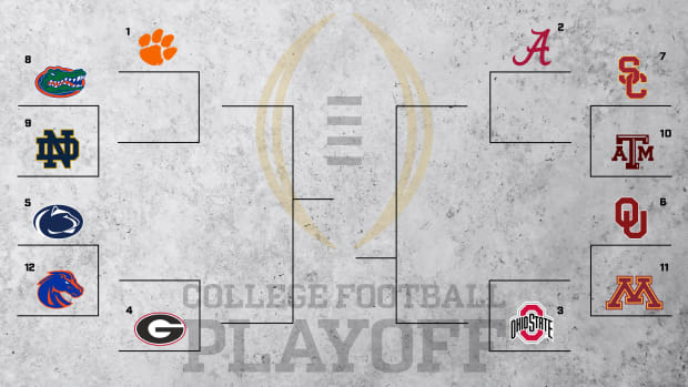 College Football Playoff hypothetical bracket