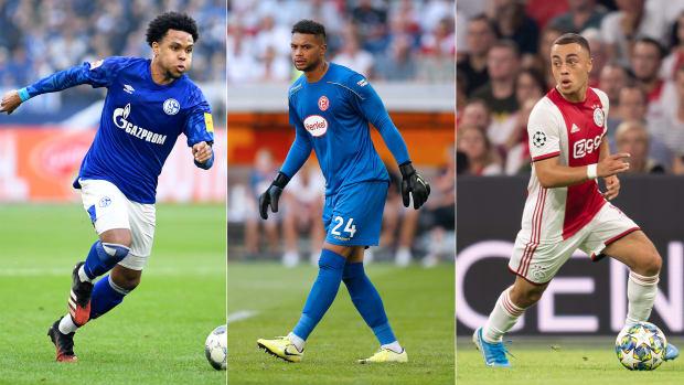 USA's Weston McKennie, Zack Steffen and Sergino Dest could be on the move this summer