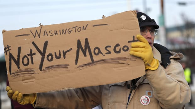 Not Your Mascot Redskins © USA TODAY NETWORK-Wisconsin-USA TODAY NETWORK via Imagn Content Services, LLC