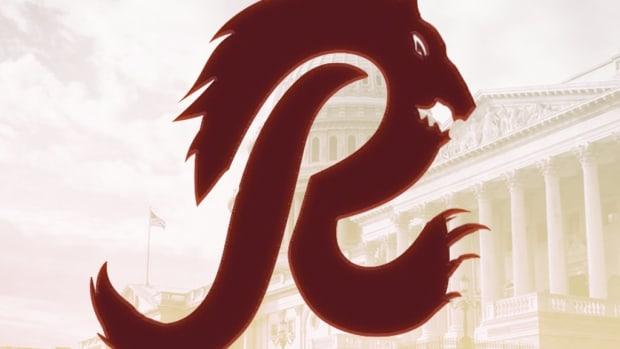 Red Wolves Logo 1