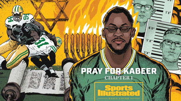 Sports Illustrated daily cover of Kabeer Gbaja-Biamila