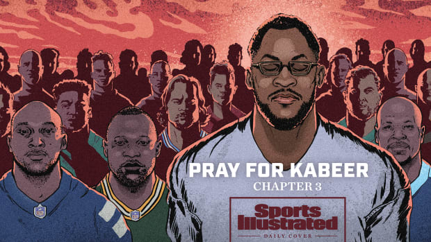 SI Daily Cover story on ex-Packers star Kabeer Gbaja-Biamila