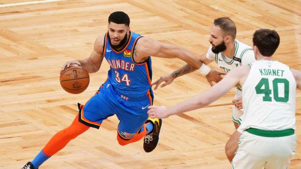 Kenrich Williams, Oklahoma City Thunder, Boston Celtics