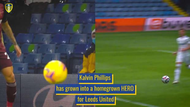 Kalvin Phillips' rise at Leeds