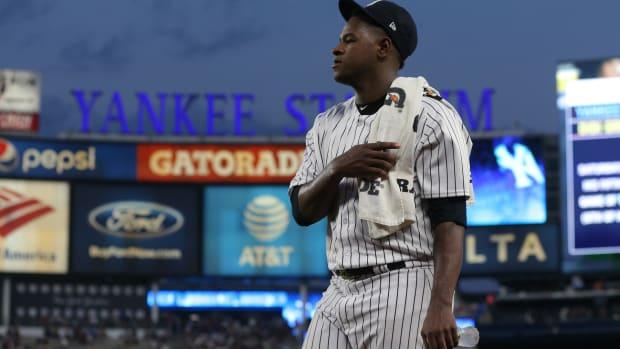 Yankees SP Luis Severino at Yankee Stadium