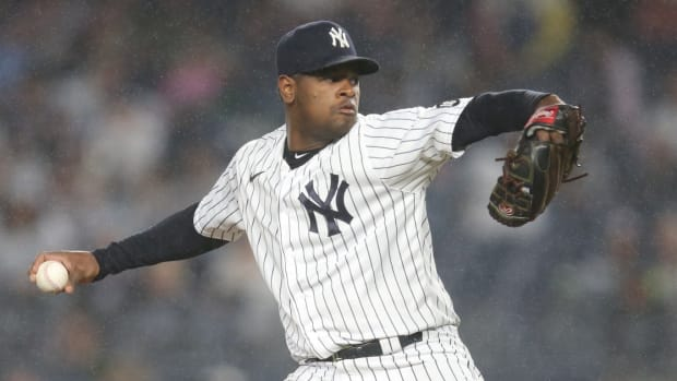 Yankees SP Luis Severino pitching in pinstripes