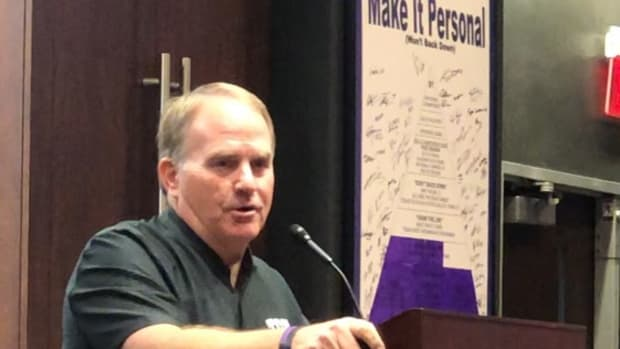 September 21, 2021 - TCU Head Coach conducts his weekly press conference ahead of the SMU game.