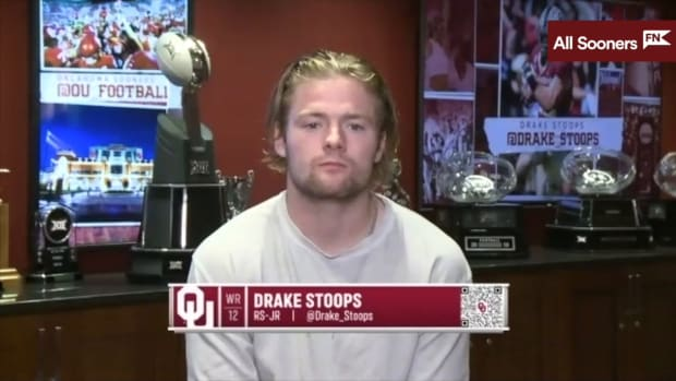 Drake Stoops Pre-WVU (9-21-21)