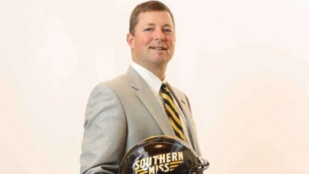 Southern Miss coach Will Hall