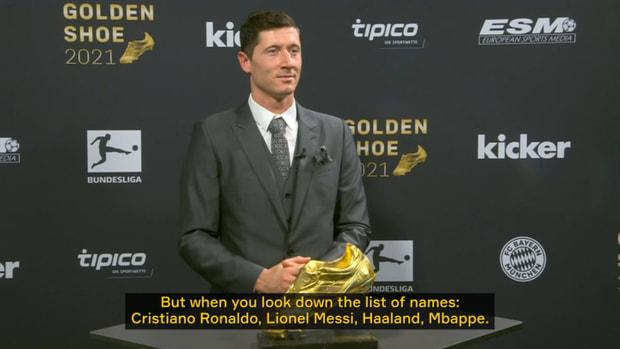 Exclusive: Lewandowski on winning the Golden Shoe 2021