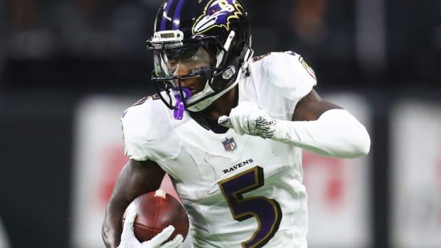 Baltimore Ravens Marquise Brown
