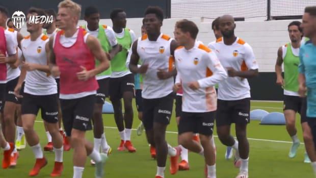Valencia prepare to face Athletic Club