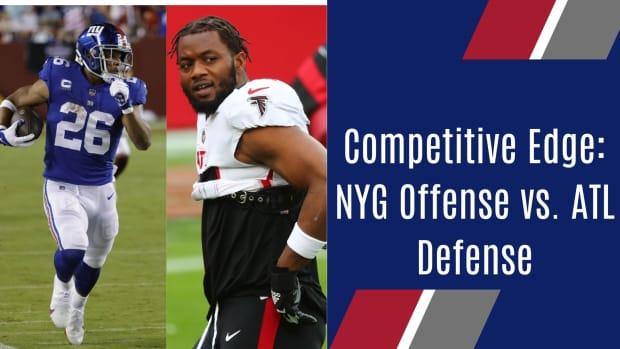 Week 3 Competitive Edge: NYG Offense vs. ATL defense