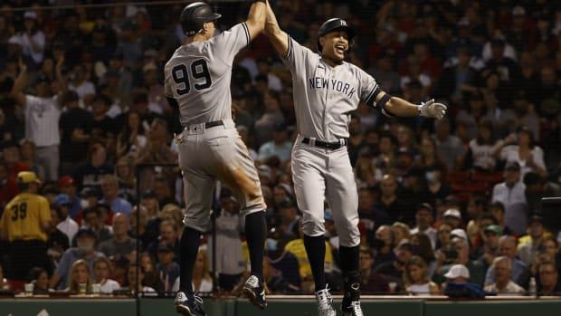 Yankees OF Giancarlo Stanton, Aaron Judge