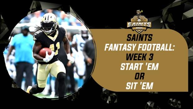 (COPY) Saints Fantasy Football 2021