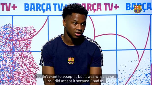 Ansu Fati: 'I want to get back to enjoying playing football'