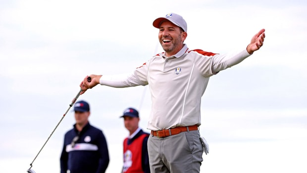 Sergio Garcia at the 2021 Ryder Cup.