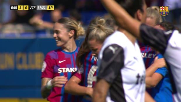 Alexia's incredible goal vs Valencia