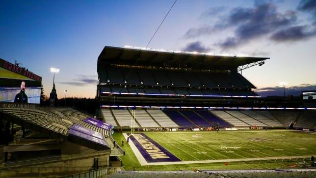 Husky Stadium in Seattle