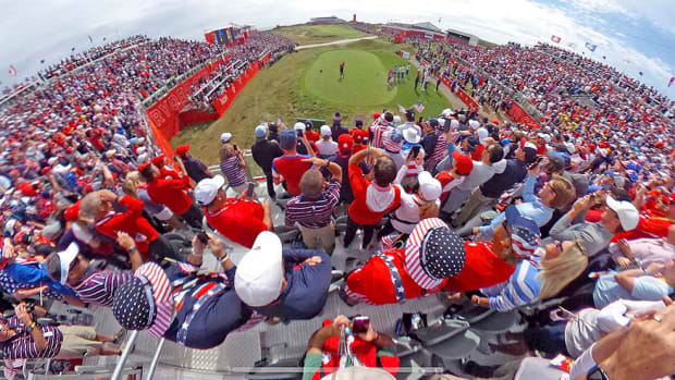 The fans at the Ryder Cup.