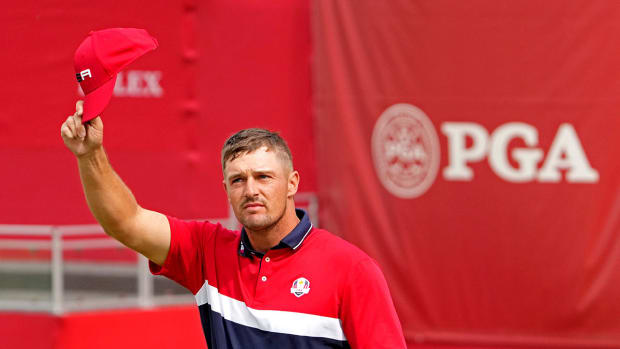 Bryson DeChambeau at the 2021 Ryder Cup.