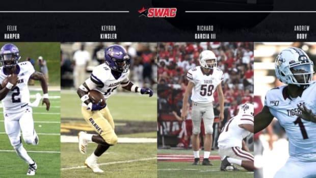 SWAC Players of the Week, Week 4 -2