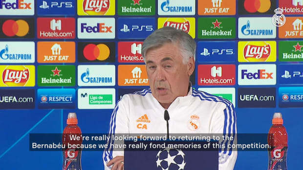 Carlo Ancelotti: 'We'll have to be fully focused'