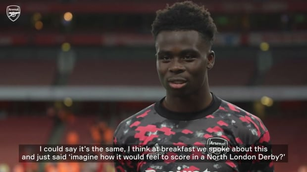 Saka on Smith Rowe connection and beating Spurs