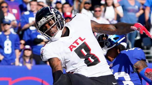 Kyle Pitts Atlanta Falcons vs. New York Giants