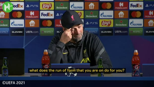 Klopp on Liverpool's form ahead of Manchester City clash
