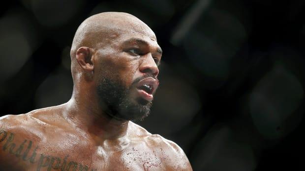 Jon Jones during UFC 247.
