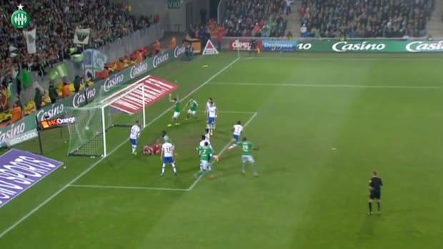 Saint Etienne's great win vs Lyon