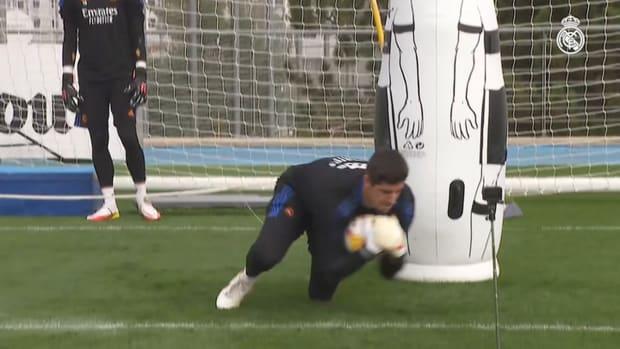 Karim Benzema begin preparations for Espanyol clash