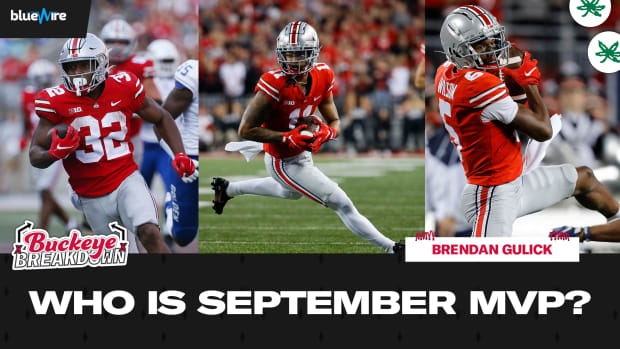 Who is Ohio State September MVP