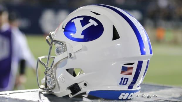 BYU Football helmet