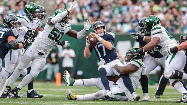 Jets DT Quinnen Williams sack