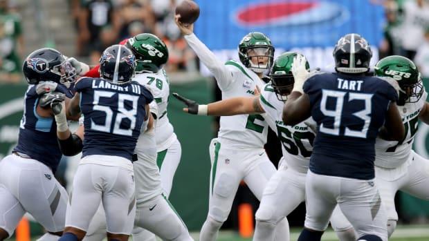 New York Jets quarterback, Zach Wilson, won his first game, Sunday, October 3, 2021.