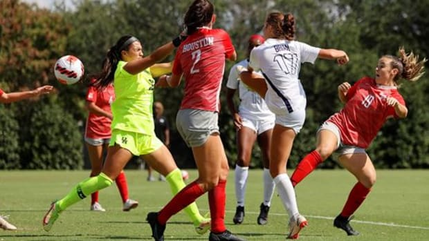 TCU Women's Soccer defeated Houston on Sunday in the final nonconference match of the season.