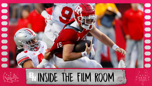 inside the film room (Rutgers-defense)