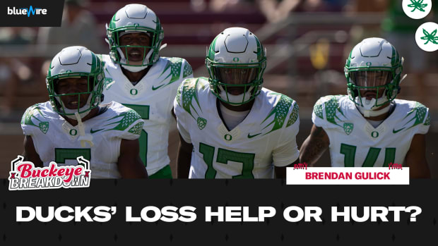 Ducks' Loss Help or Hurt Buckeyes