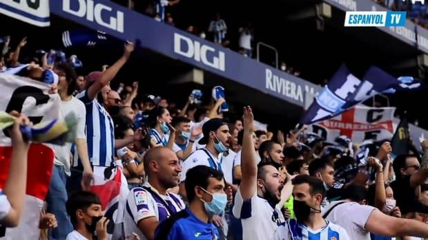 Behind the scenes: Espanyol celebrates win against Real Madrid