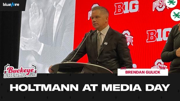 Chris Holtman at Media Day