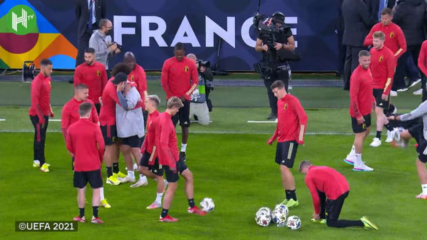 Belgium prepare to face France for Nations League