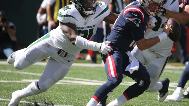 Jets defensive end John Franklin-Myers