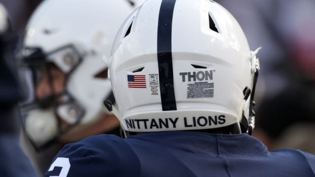 Penn State helmet