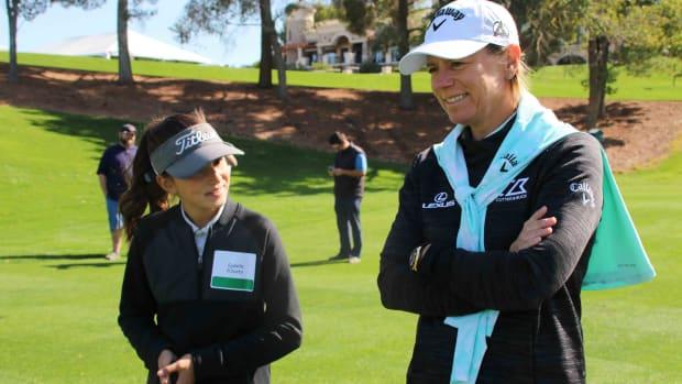 Annika Sorenstam junior golf