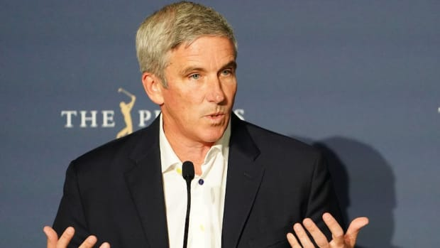 PGA Tour commissioner Jay Monahan at 2020 Players Championship