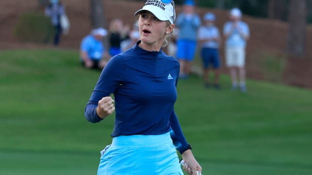 Jessica Korda wins 2021 Diamond Resorts Tournament of Champions