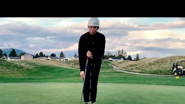 How to putt side-saddle, Part 3: The setup